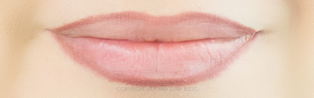 ZuZu Luxe Lip liner swatches